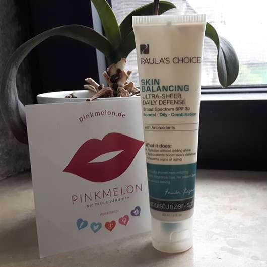 Paula's Choice Skin Balancing Tagescreme LSF 30