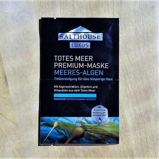 """Salthouse Luxus Totes Meer Premium-Maske """"Meeres-Algen"""""""