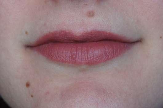 SANTE Mat Matt Matte Lipstick, Farbe: 06 Blissfull Terra auf den Lippen