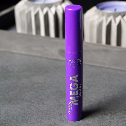 SANTE Mini makes MEGA Lashes, Farbe: 01 Black - Flakon