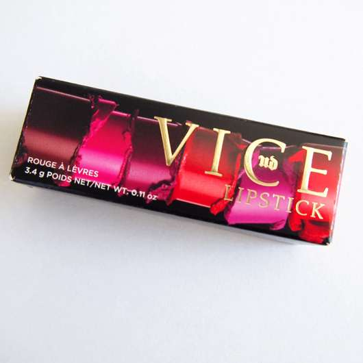 <strong>Urban Decay</strong> VICE Lipstick - Farbe: Temper (Comfort Matte Finish)