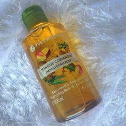 Produktbild zu Yves Rocher Les Plaisirs Nature Duschbad Mango Koriander