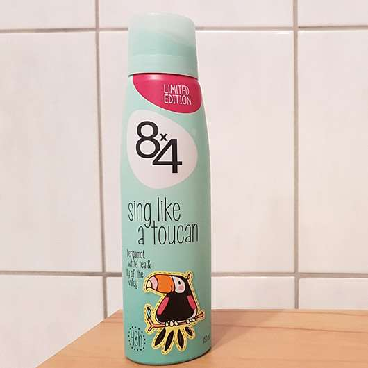 8x4 sing like a toucan Deodorant Spray (LE) - Dose