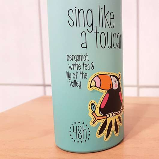 8x4 sing like a toucan Deodorant Spray (LE) - Design