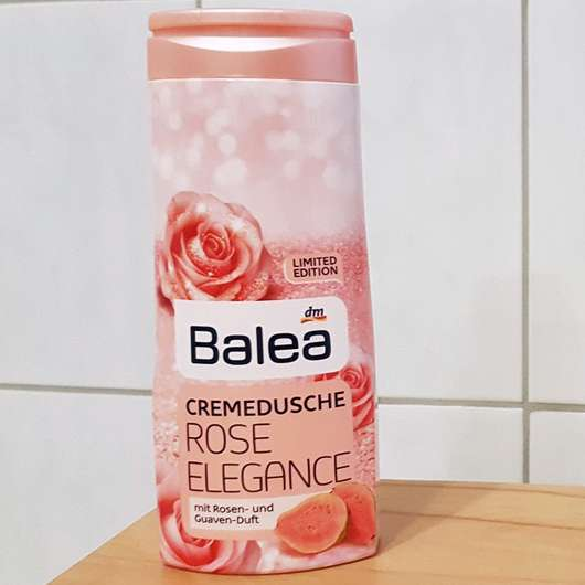 Design der Balea Cremedusche Rose Elegance (LE)