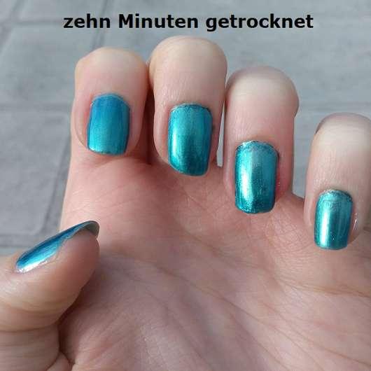 Farbe des Manhattan Last & Shine Nail Polish, Farbe: 830 Almost Emerald