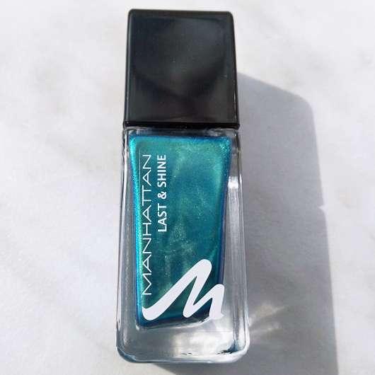 Design des Manhattan Last & Shine Nail Polish, Farbe: 830 Almost Emerald
