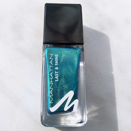 <strong>MANHATTAN</strong> Last & Shine Nail Polish - Farbe: 830 Almost Emerald
