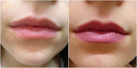 Maybelline Super Stay Matte Ink, Farbe: Lover auf den Lippen