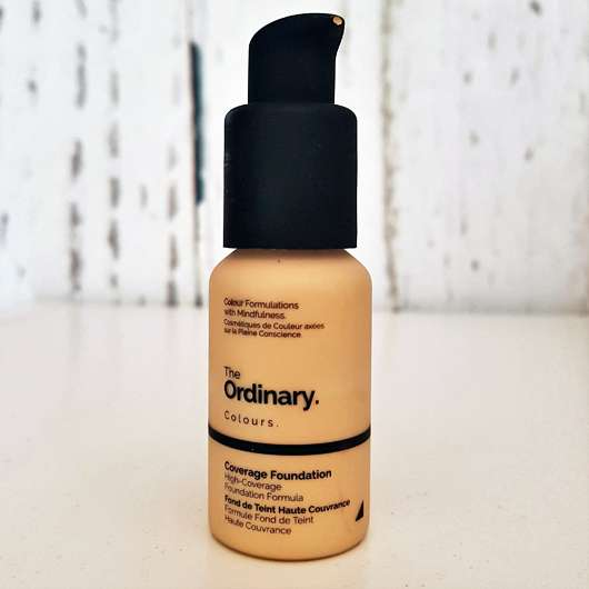 <strong>The Ordinary</strong> Coverage Foundation - Farbe: 1.2YG