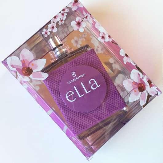 Verpackung vom Victorinox Ella Eau de Toilette