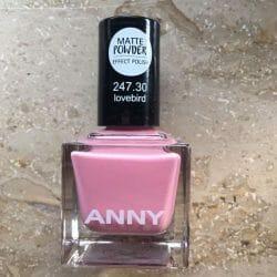 Produktbild zu ANNY Cosmetics Matte Powder Effect Polish – Farbe: 247.30 lovebird