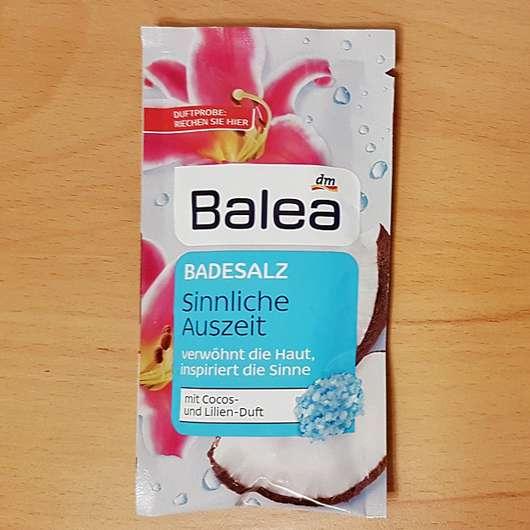Balea Badesalz Sinnliche Auszeit - Sachet