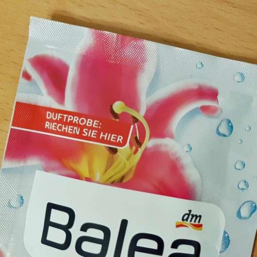 Balea Badesalz Sinnliche Auszeit - Duftprobe am Sachet