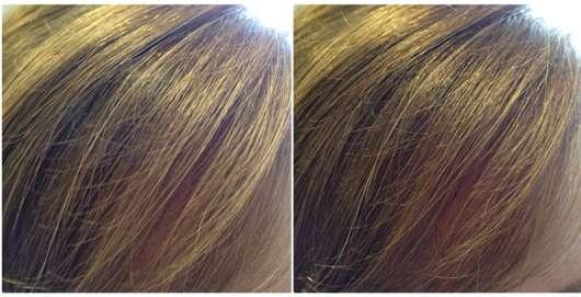Balea Haarspray Volume Lift (LE) Pony vorher und nachher