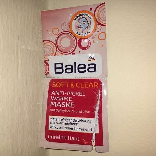 Balea Soft & Clear Anti-Pickel Wärme Maske