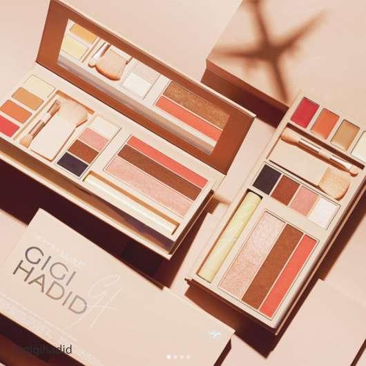 Gigi Hadid x Maybelline: So sieht ihre Jetsetter-Palette aus