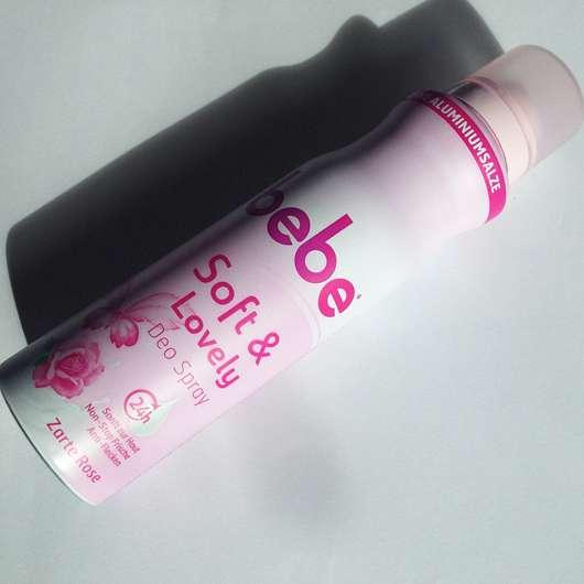 bebe Soft & Lovely Deo Spray Zarte Rose