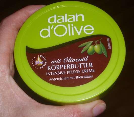 Dalan d'Olive Körperbutter - Tiegel von oben