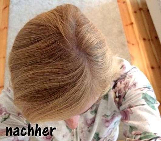 Douglas Hair Tinted Dry Shampoo, Farbe: Blond Hair nachher