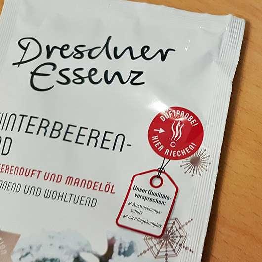 Dresdner Essenz Winterbeerenbad (LE) - Sachet Duftprobe