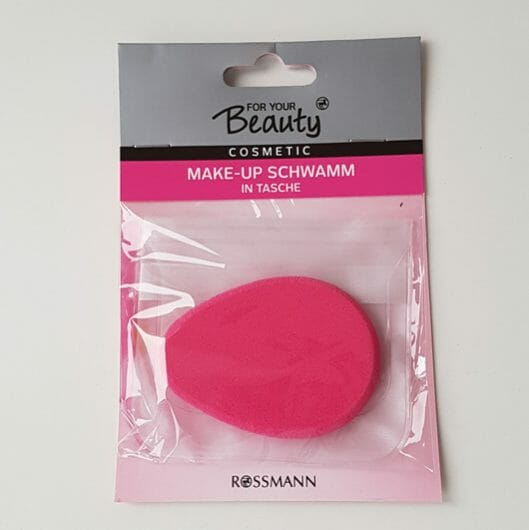 <strong>for your Beauty</strong> Make-up Schwamm in Tasche