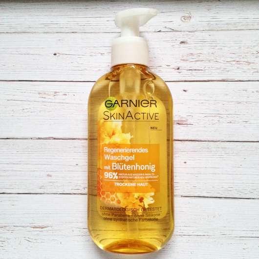 <strong>Garnier SkinActive</strong> Regenerierendes Waschgel Blütenhonig