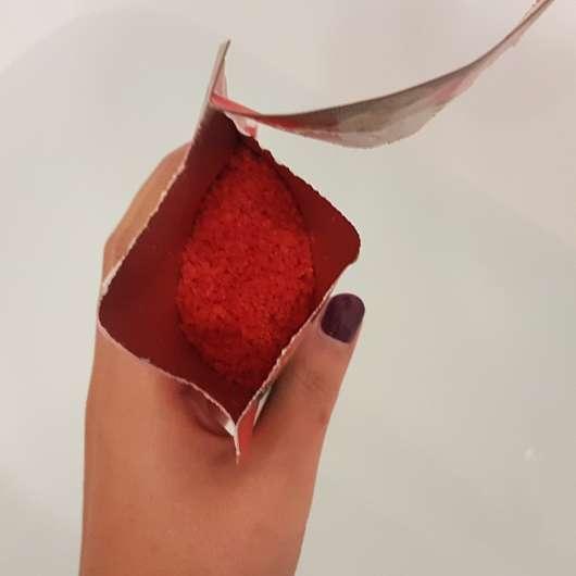 Kneipp Badekristalle Hab dich lieb Sachet geöffnet