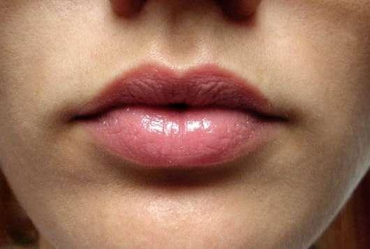 Misslyn Color Kiss Lip Butter, Farbe: 71 Sun-Tanned - auf den Lippen