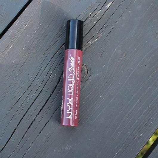 NYX Liquid Suede Cream Lipstick, Farbe: 12 Vintage