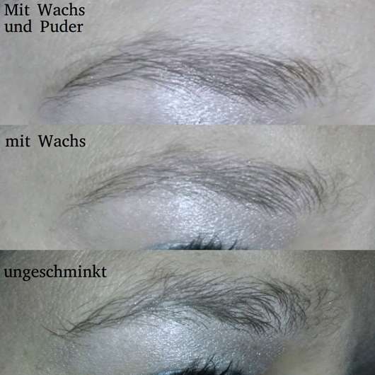 Augenbrauen ohne/mit Stiftmine des Swatches - p2 blogger's loveys by designdschungel brow sculptor & filler duo, Farbe: 020 fashionable brown (LE)