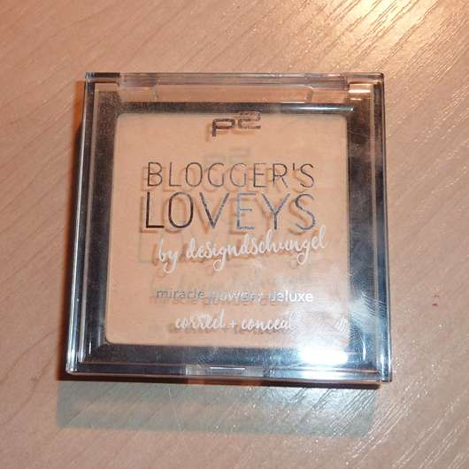 p2 blogger's loveys by designdschungel miracle powder deluxe correct + conceal (LE) Design