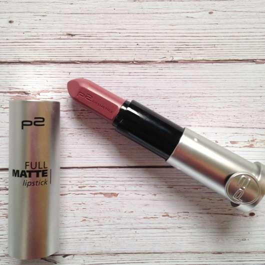 p2 full matte lipstick, Farbe 050 require more Produkt