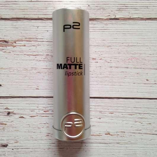 p2 full matte lipstick, Farbe 050 require more Design