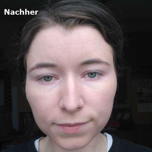 Gesicht mit Rival de Loop Perfect Teint Anti-Rötung Tagescreme