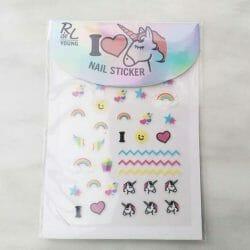 Produktbild zu Rival de Loop Young I Love Unicorns Nail Sticker (LE)