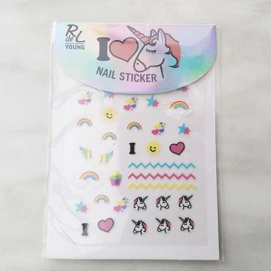 Rival de Loop Young I Love Unicorns Nail Sticker (LE) Design