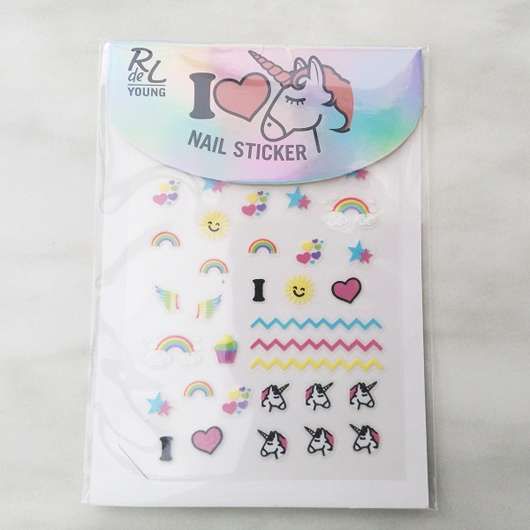 <strong>Rival de Loop Young</strong> I Love Unicorns Nail Sticker (LE)
