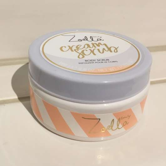 ZOELLA beauty Cream Scrub Body Scrub