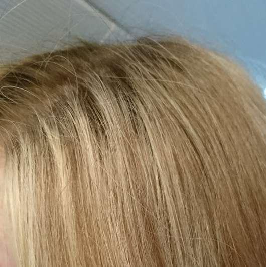 Aussie Wash + Blow Trockenshampoo Boost Me Up! Haare nachher