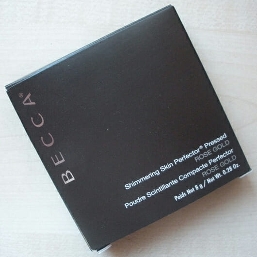 BECCA Cosmetics Shimmering Skin Perfector Pressed, Farbe: Rose Gold Verpackung