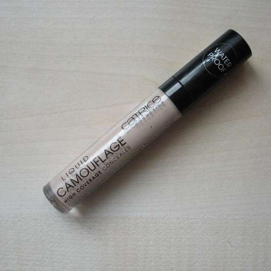 Catrice Liquid Camouflage (High Coverage Concealer), Farbe: 010 Porcellain Design