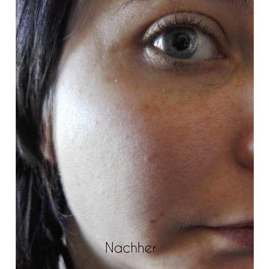 Haut nach 4-wöchigem Test - Douglas Nutri Focus Exfoliating Cream