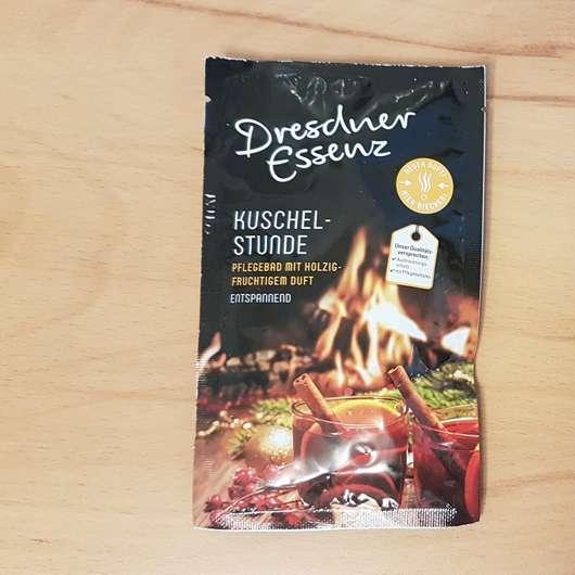 Dresdner Essenz Kuschelstunde Pflegebad Sachet und Design