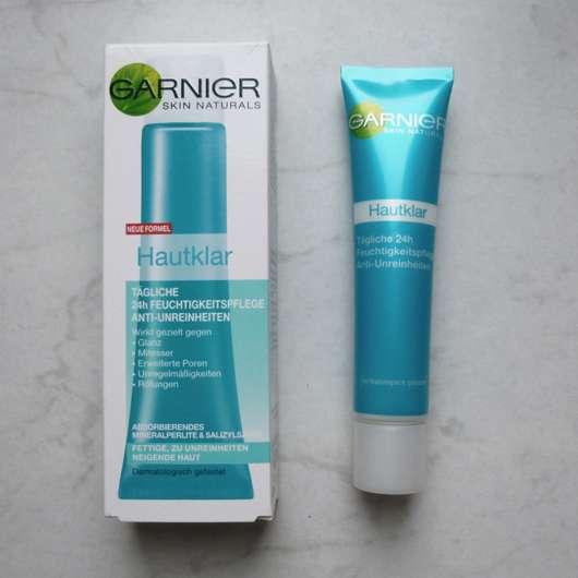 <strong>Garnier Skin Naturals</strong> Hautklar Tägliche 24h Feuchtigkeitspflege Anti-Unreinheiten