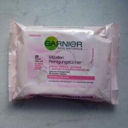 Produktbild zu Garnier Skin Naturals Mizellen Reinigungstücher (empfindliche Haut)