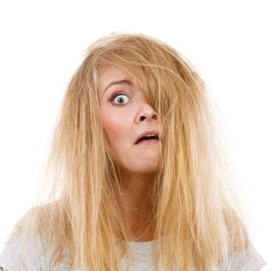 Die Haarschäden Reparaturwerkstatt