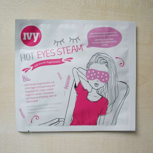 IVY Hot Eyes Steam – Wärmende Augenmaske Sachet