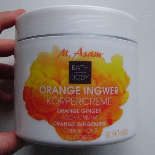 M. Asam Orange Ingwer Körpercreme