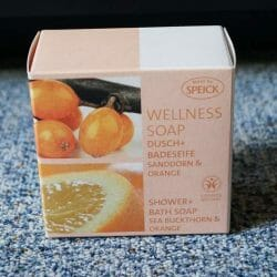 Produktbild zu Made by SPEICK Wellness Soap Dusch + Badeseife Sanddorn & Orange